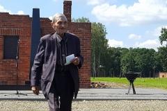 Dik I Na Bistar 2016 - August 2, Commemoration in Auschwitz-Birkenau