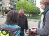 Jasper and Marietta make an interview. April 19, 2012.