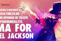 Roma for Michael Jackson 2015