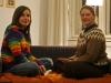 Eva and Aninka.