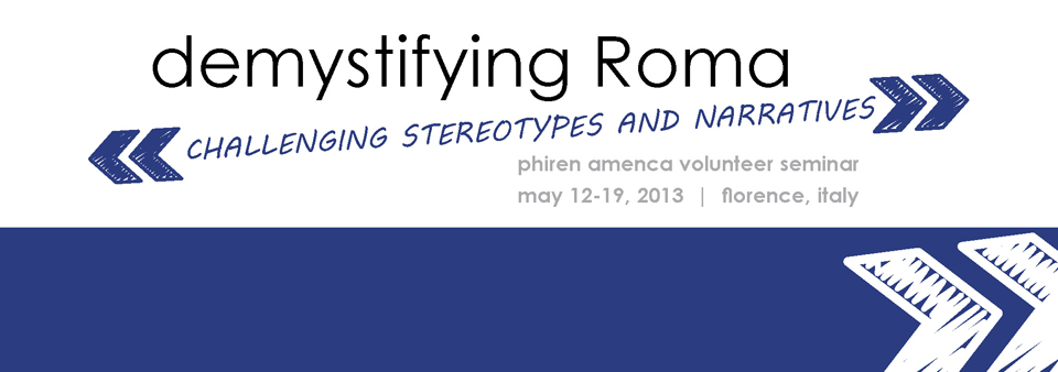 Demystifying Roma Web Banner