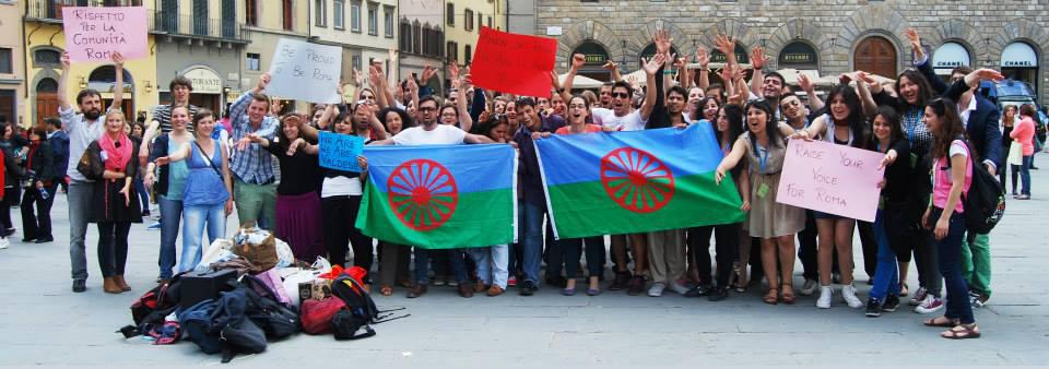 Demystifying Roma flashmobno text