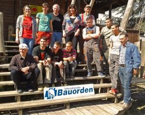 Bricklayer Work Team