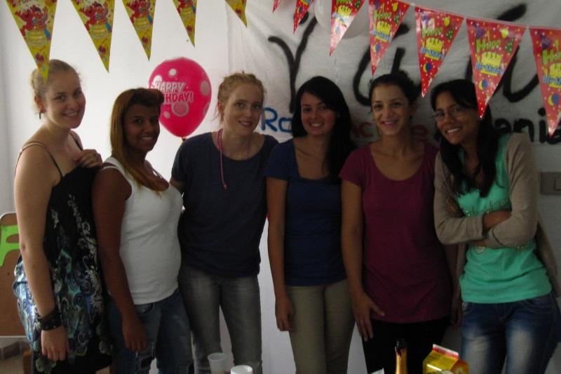 Roma Active Albania volunteers, 2013.