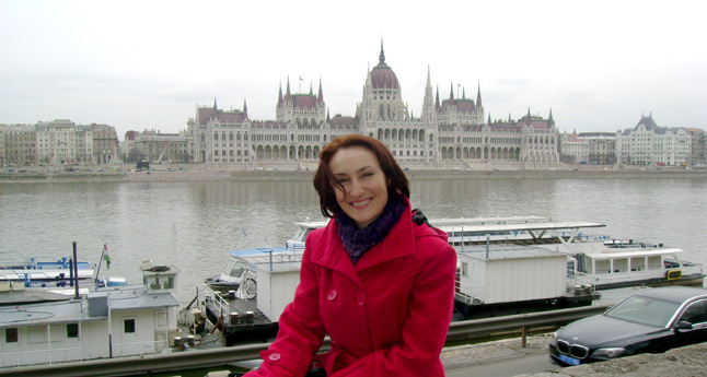 Melinda is doing her voluntary service with Phiren Amenca Coordination Office in Budapest, Hungary.